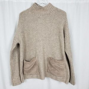 Christian Siriano Ribbed Oversize Sweater